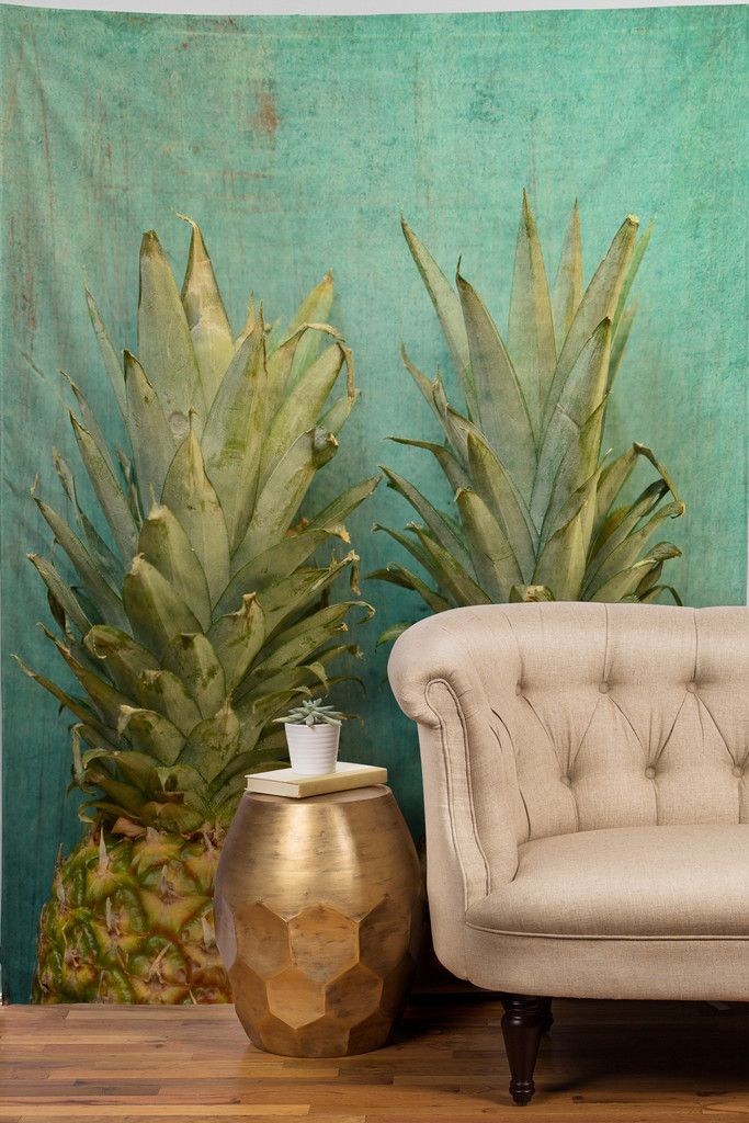 Olivia St Claire Tropical Tapestry | DENY Designs Home Accessories, pineapple art, decor, turquoise