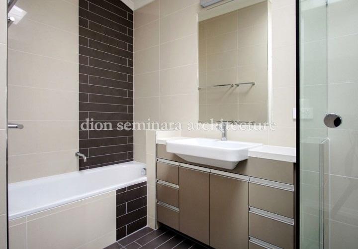 Indooroopilly bathroom renovation, Interior Design Architects - Dion Seminara Architecture