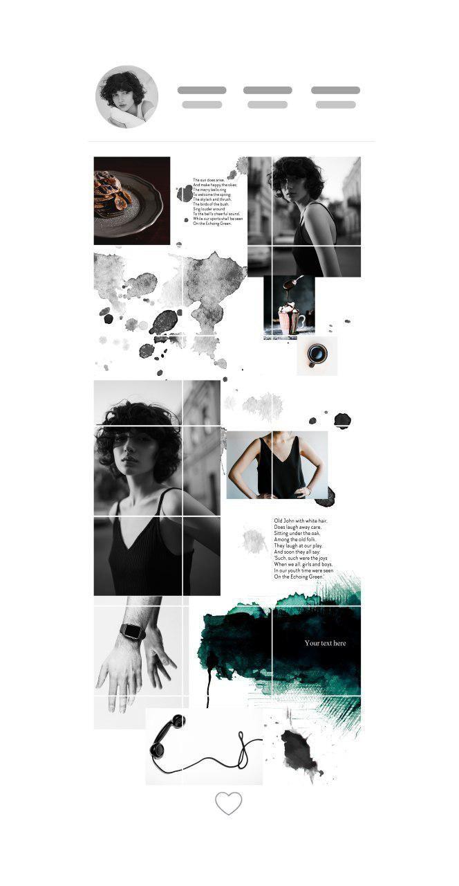 Instagram Grid Layout Instagram Grid Layout Instagram Theme Layout Instagram Feed Layout