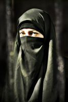 The Power of Niqab by NoHumanFearLeft