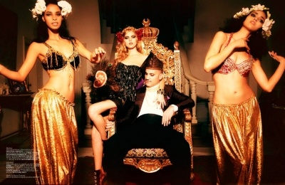 Hurrem Sultan: Linchuk6 Maryna, Style, Vogue Turkey, Linchuk Vogue, Fashion Editorials, Maryna Linchuk6, Turkey December, Gold, Fashion Bloggers