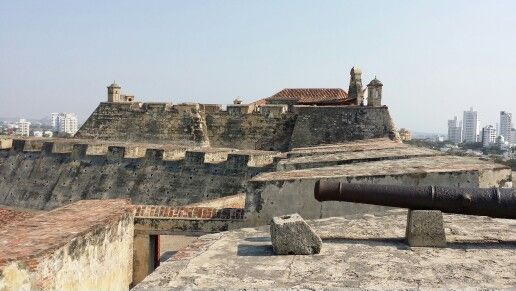 Castillo de San Felipe en Cartagena de Indias