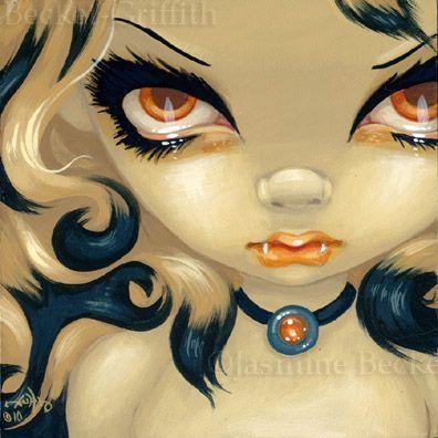 Jasmine Becket Griffith Art | Art: Faces of Faery #101 by Artist Jasmine Ann Becket-Griffith