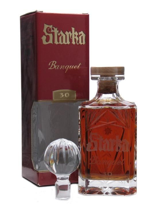 Starka Banquet / 30 Year Old Vodka : Buy Online - The Whisky Exchange