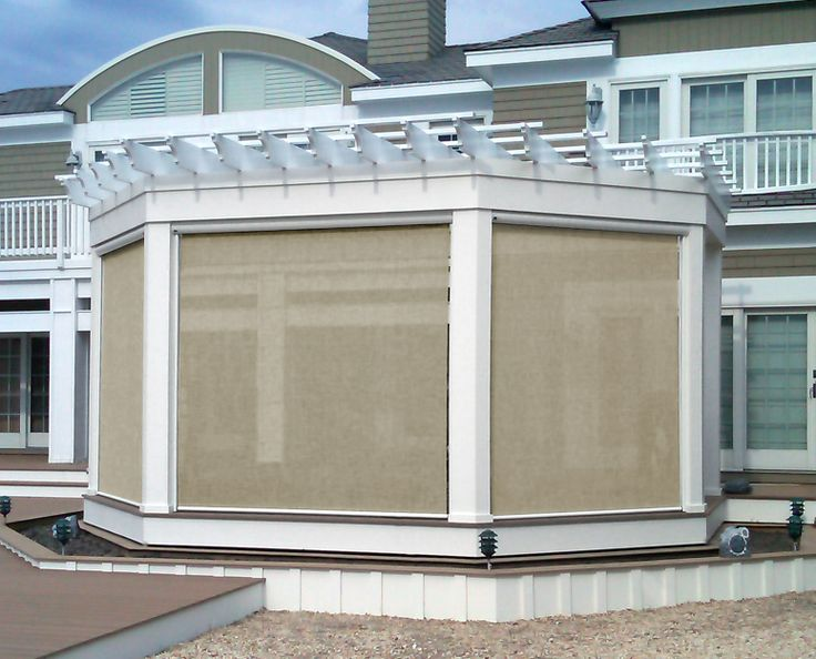 14 best sunesta awnings images on pinterest retractable for Retractable deck screens