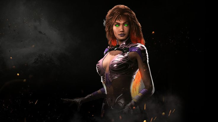 cool Starfire Injustice 2 Game  1920x1080