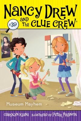 When a statue is broken during their class's overnight trip to the museum, Nancy, Bess, and George try to get to the bottom of the mystery and find those responsible.