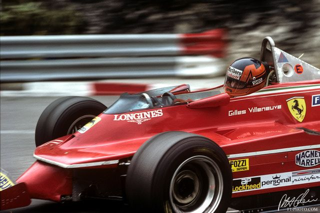 Gilles Villeneuve, 1980, Monaco