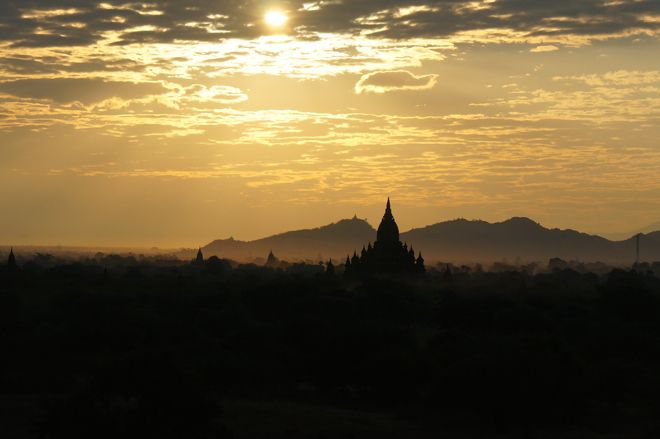 Does travel photography get more beautiful than this? We don't think so. Read all about the mythical old city of Bagan in Myanmar on our website: http://www.suitcasesandstrollers.com/articles/view/best-family-friendly-activities-for-kids-bagan?l=all #GoogleUs #suitcasesandstrollers #travel #travelwithkids #familytravel #familytraveltips #traveltips #sun #clouds #temples #awestruck #awesome #travelphotography