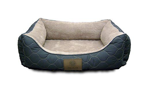 American Kennel Club Orthopedic Circle Stitch Cuddler Pet Bed, Gray >>> Visit the image link for more details.