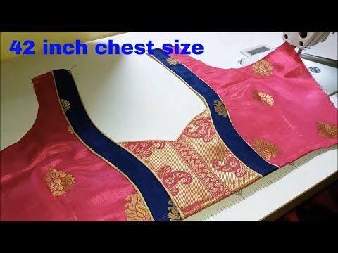 513683d22b032 New model blouse back neck design stitching   Latest blouse   DIY - YouTube