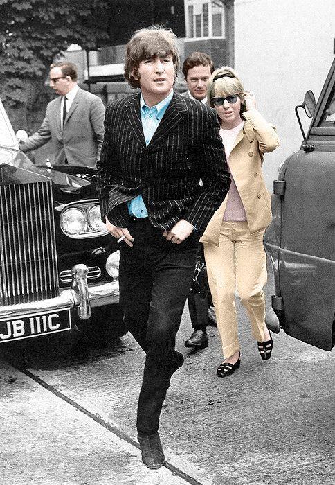 John Lennon and Cynthia Powell | pinterest cynthia powell lennon | John Lennon, Cynthia Powell-Lennon ...