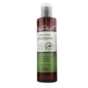 HERBAL SHAMPOO for toning / 200ml                                                                                                                                                        Shampoo with Labdanum and Dittany, enriched also with cretan essential oils of rosemary, thyme, sage,laurel and lemon.                                                                                                                                        Use:  Wet your hair with warm water. Apply a small amount…