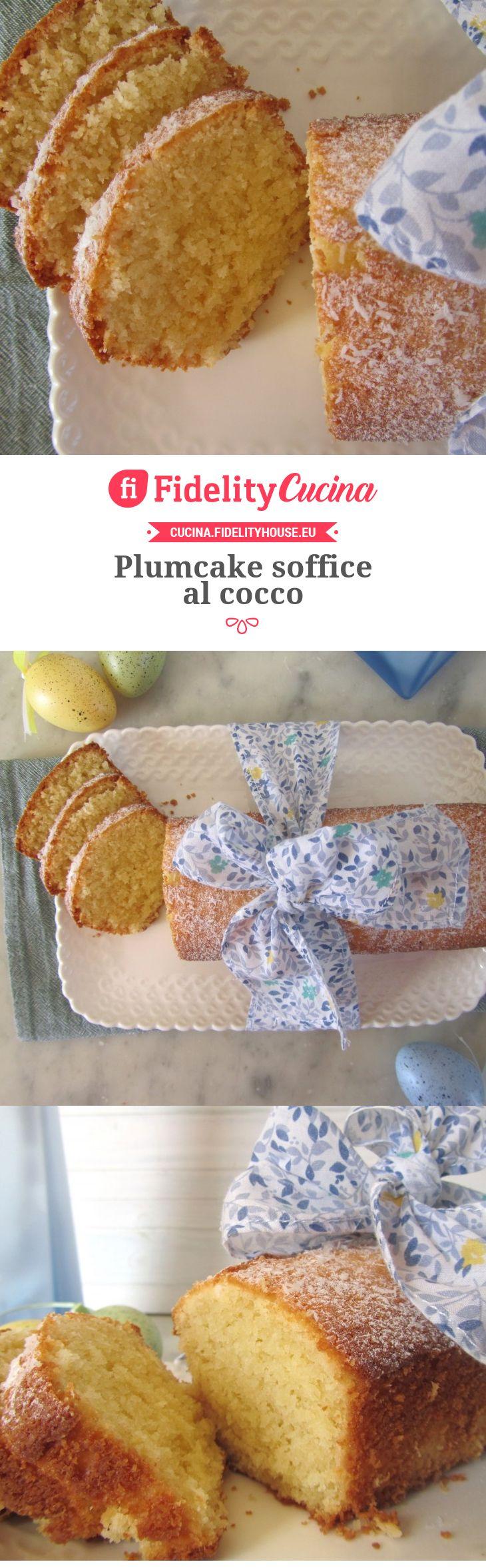 Plumcake soffice al cocco