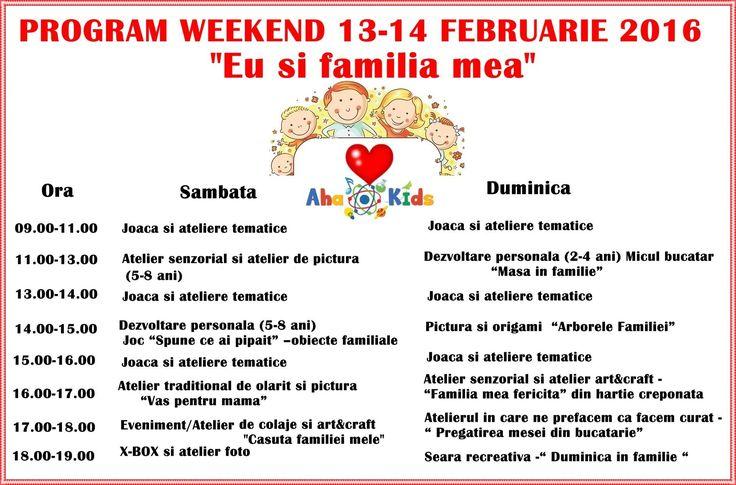 Weekend de vacanta la AHA Kids