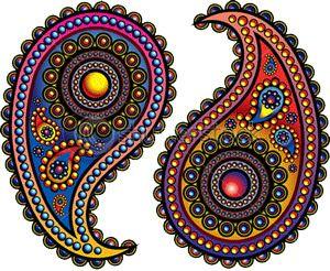 Nice design for a tattoo...iranian art..paisley