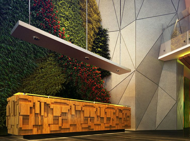 Maxone Hotel's lobby concept, rendered by Sigit for arsindo.net