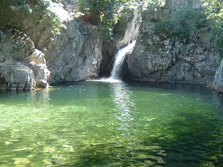 Second lagoon of Fonias river, Samothraki island, Greece
