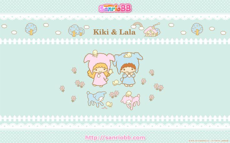 Little Twin Stars Wallpaper 2013 九月桌布 日本 SanrioBB Present