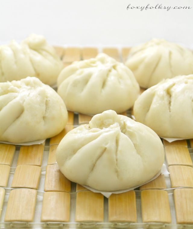 Siopao -Asado (Steamed buns with chicken filling) |Foxy Folksy