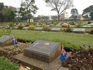 Remembering The Fallen In Kanchanaburi http://jouljet.blogspot.com/2013/02/remembering-fallen-in-kanchanaburi.html #Thailand #ANZACs #travel #WWII