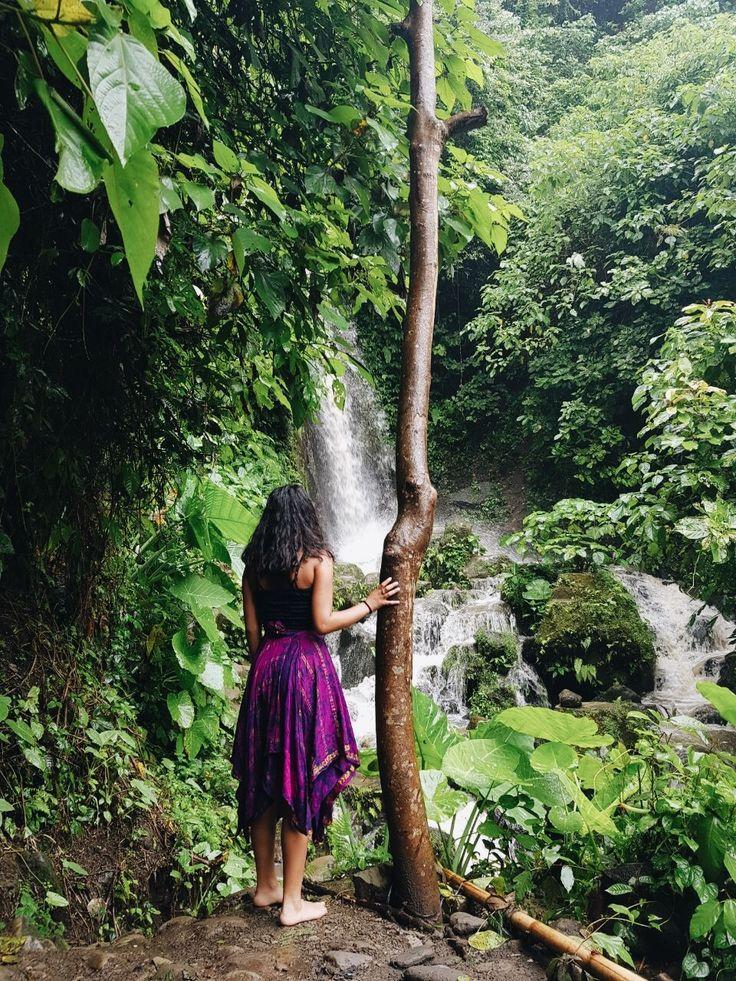 ✨ Pinterest: ash_ january Waterfall, Ubud, Bali #bali #ubud #lush #waterfall