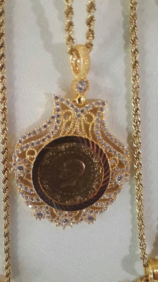 Necklace called krafach Boulahya typical east Algeria