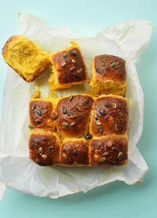 pompoenbrioche brood(jes)