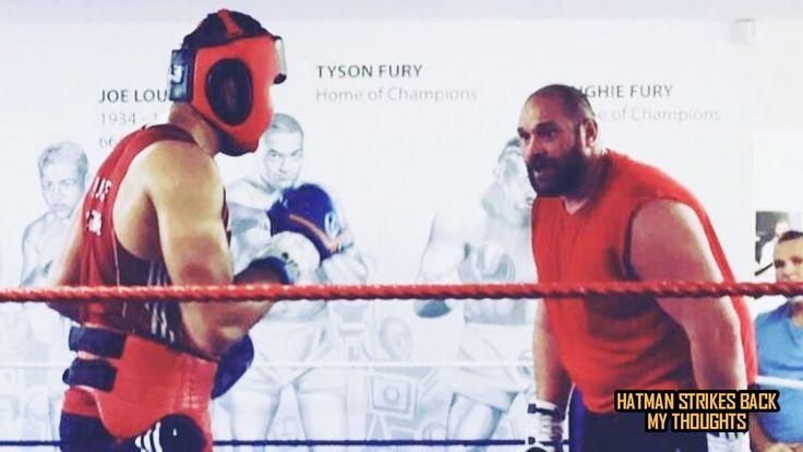 "TYSON FURY SPARRING JOE JOYCE - ""YOU KICKED MY ASS""!!!"
