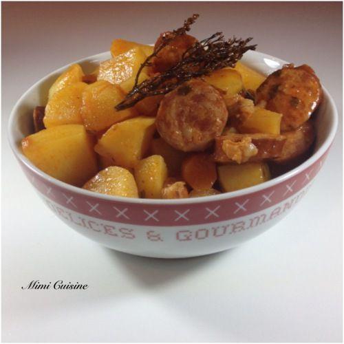 Ragoût de saucisses fumées à la tomate #Cookeo - Mimi Cuisine