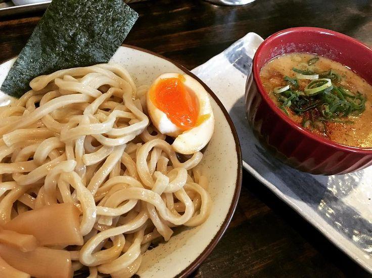 今月はもうラーメン食べません(_) #麺屋ジョニー #長浜 #つけ麺 #ラーメン女子  #ラーメン #ラーメン遠征 by aidoru.nomiko