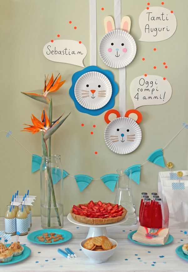 DIY (last minute!) Birthday party decorations