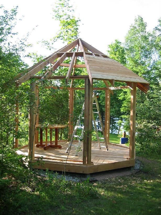 Gazebo Roofs | Gazebo Roof Framing 9 10 From 18 Votes Gazebo Roof Framing 4  10