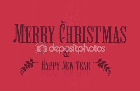 Merry Christmas & Happy new Year — Stock Vector © GoodArtPix #93175312