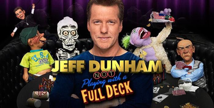 Jeff Dunham 2 Concert Tickets + Meet & Greet at Any 2014 Tour Date Show  - $ to Catalina Film Festival
