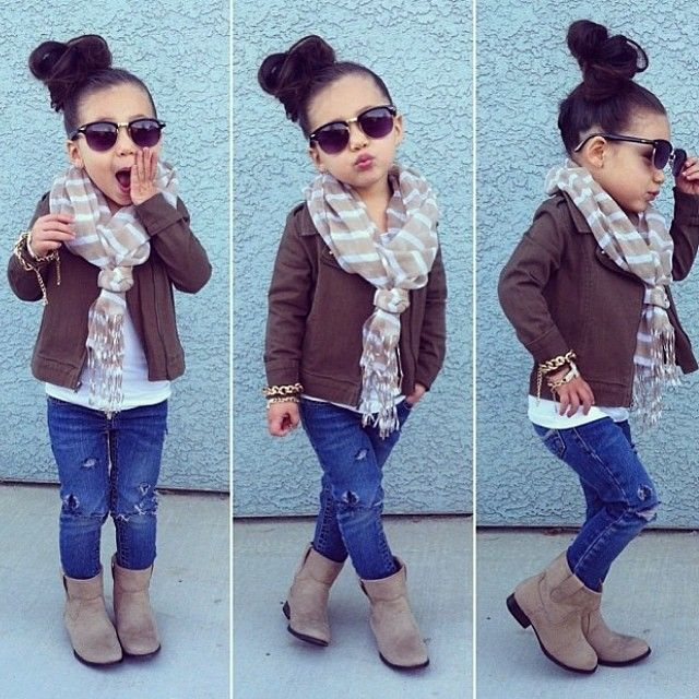 This is how my sister would dress her daughter...if she had one. It's so her!
