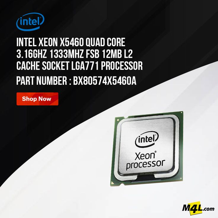 Intel Xeon X5460 Quad Core 3.16GHz Processor