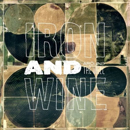 """listening to """"belated promise ring"""" from iron and wine's """"new harvest"""" album. this cover art from """"around the well"""" album. love those well-worn overlapped circles ..."""