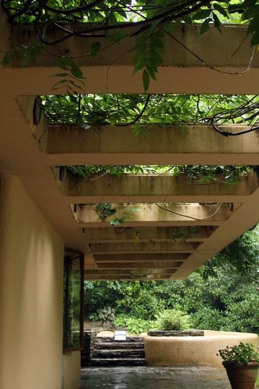 Beautiful design at Fallingwater by Frank Lloyd Wright