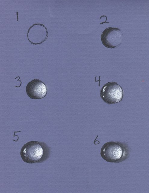 How to draw Water Drops Tutorial with thanks to creators joy , Resources for Art Students, CAPI ::: Create Art Portfolio Ideas milliande.com, Art School Portfolio Work