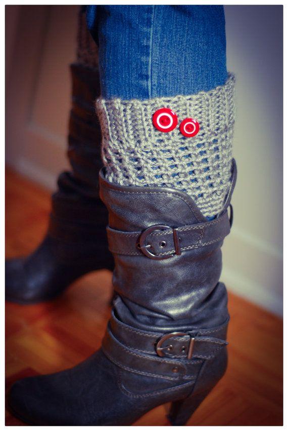Manchettes de bottes Kà boot cuffs par Mailleatoutplaire sur Etsy