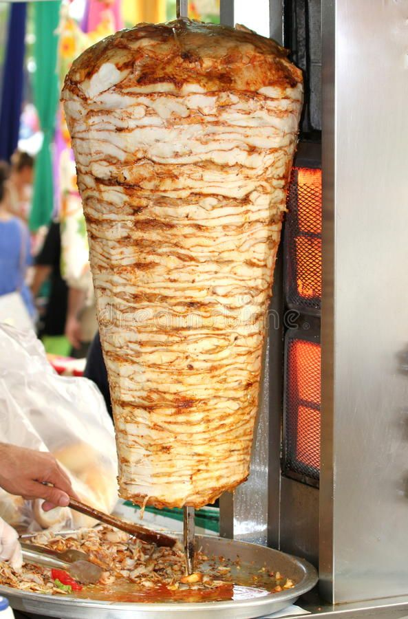 Turkish Doner Kebab Chicken Doner Royalty Free Stock Photography Chicken Doner Kebab Turkish Doner