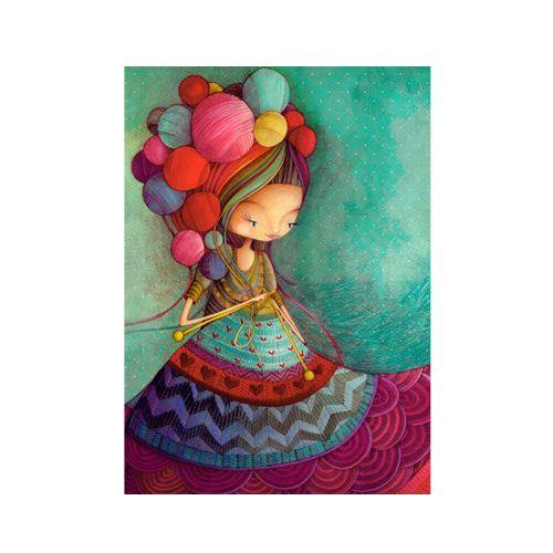 Photo Carte de souhaits Tricoti tricota