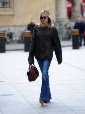 Jeans a zampa d'elefante - Idee dallo streetstyle
