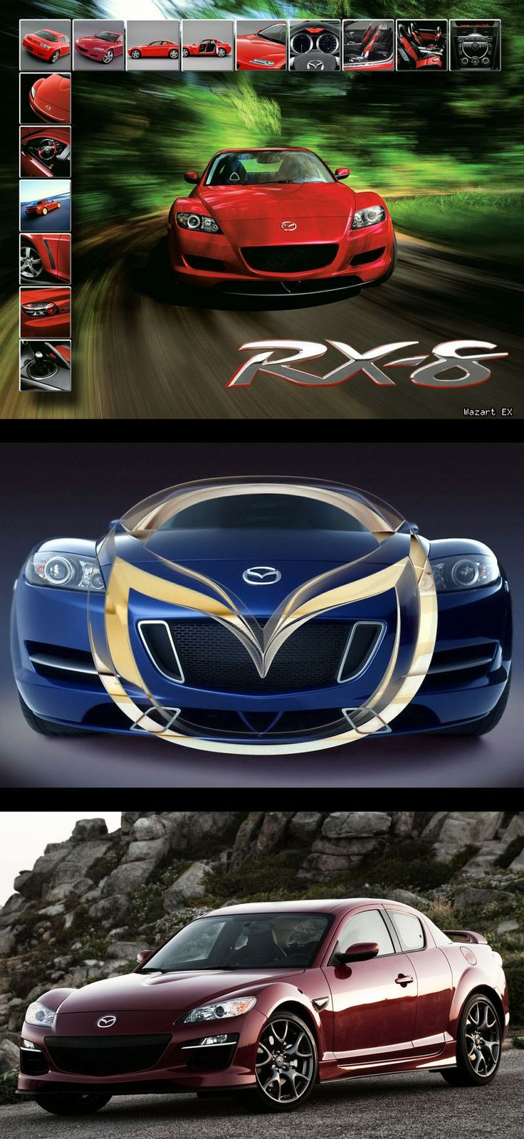 http://flanaganmotors.com Mazda RX8 poster