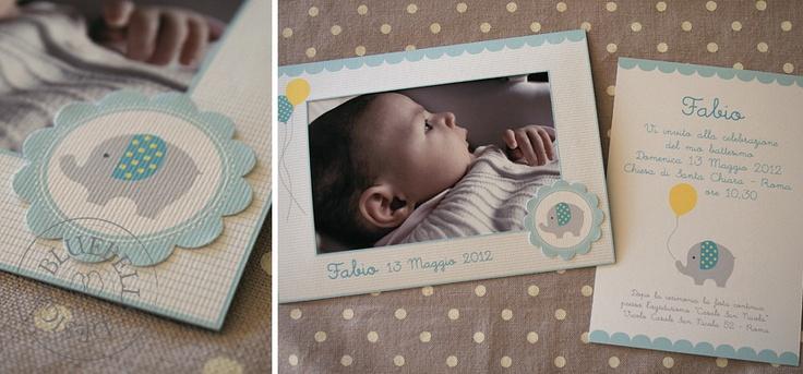 BluebellsDesign: blue baby elephant