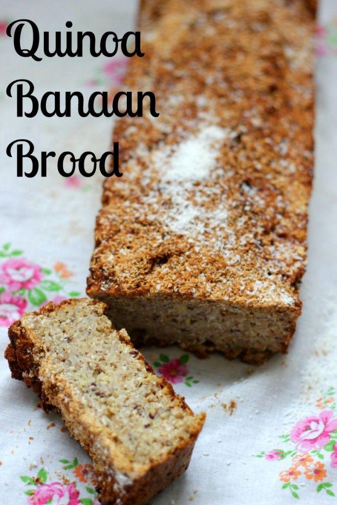Quinoa Kokos Banaan Brood | De Bakparade