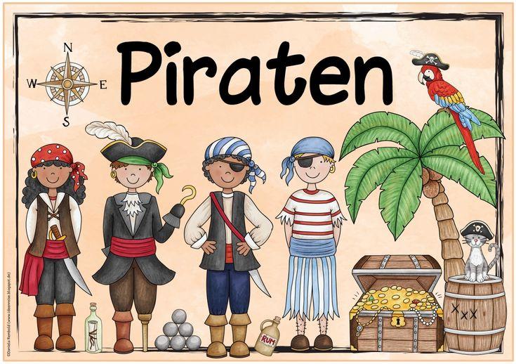 """Ideenreise: Themenplakate """"Piraten"""" und """"Verkehrserziehung"""""""