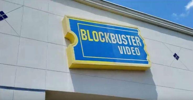 Entró clandestinamente a un local abandonado de Blockbuster 6 años después de la bancarrota y esto encontró
