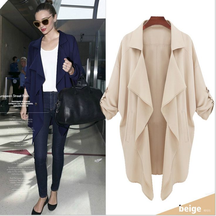 Find More Trench Information about spring autumn 2014 women Trench coat European and American fashion atmosphere yards Trench coat  xw316,High Quality coat khaki,China coat of arms embroidery Suppliers, Cheap coats fall from our world on Aliexpress.com